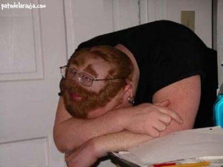 Como dormir em sala de aula